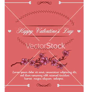 Free happy valentines day vector - vector #232257 gratis