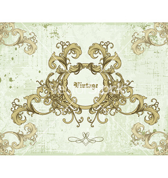 Free frame with floral vector - Kostenloses vector #232307