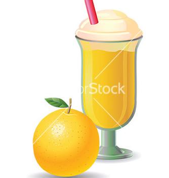 Free milkshake design vector - vector gratuit #232547