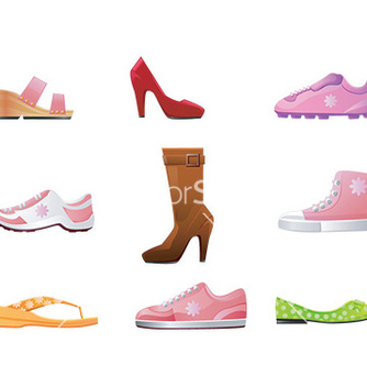 Free shoe icon vector - Free vector #232567