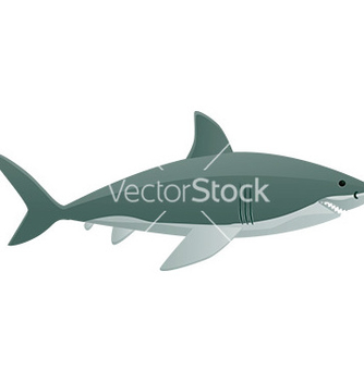 Free shark cartoon vector - Free vector #232687