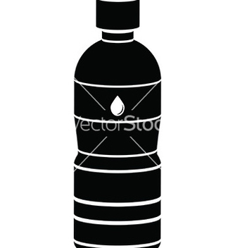 Free water bottle icon vector - Free vector #232877