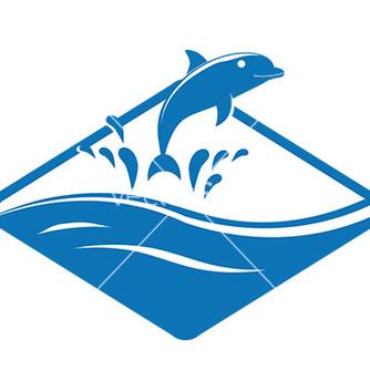 Free dolphin design vector - Free vector #232897