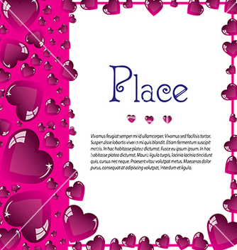 Free valentines for text vector - Free vector #233237