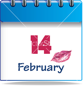 Free calendar icon for valentines vector - Free vector #233287