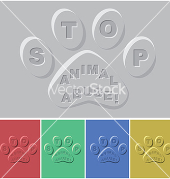 Free paws vector - vector gratuit #233307