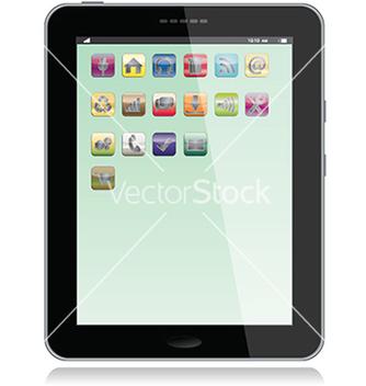 Free tablet vector - Kostenloses vector #233557