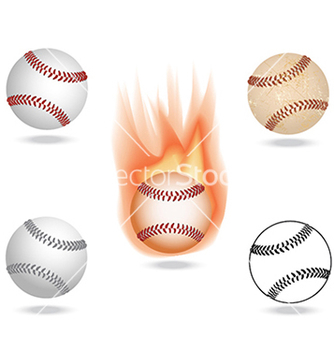 Free baseball vector - Free vector #233627