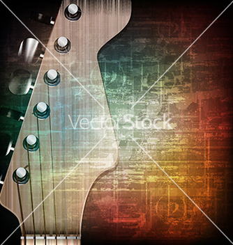 Free abstract music grunge vintage background with vector - Free vector #234017