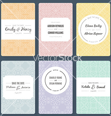 Free save the date vector - vector #234717 gratis