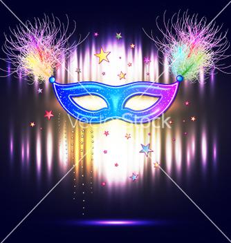 Free venetian carnival mask vector - vector #234987 gratis