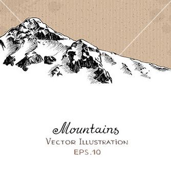Free snow peak vector - Free vector #235347