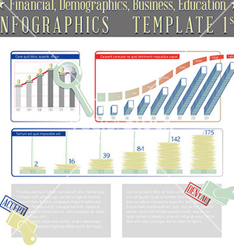 Free financial demographics business education vector - Free vector #236107