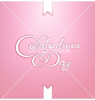 Free valentines day calligraphy lettering design vector - vector gratuit #236217
