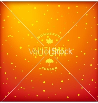 Free autumn background vector - Free vector #236887