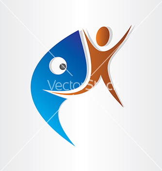 Free shark attack vector - Free vector #237227