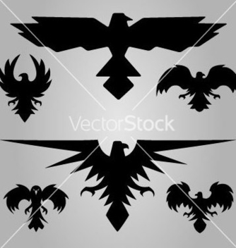 Free eagles stylised vector - Free vector #237517