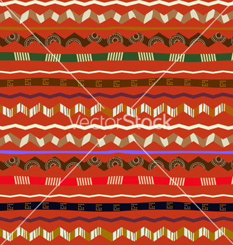 Free seamless ethnic pattern vector - Free vector #237797