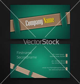 Free abstract creative business cards set template vector - vector #238037 gratis