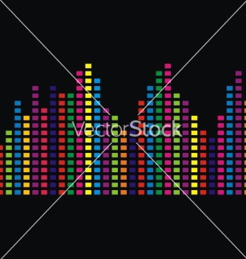 Free colorfull bars vector - Free vector #238297