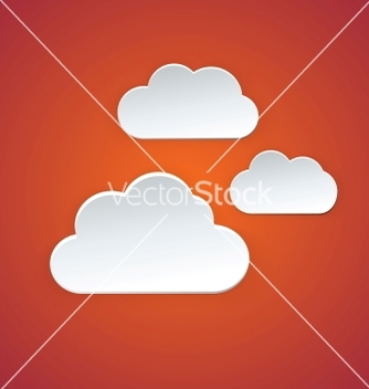Free paper clouds vector - Free vector #238717