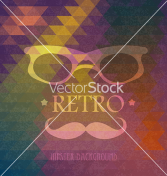 Free triangular hipster grungy background vector - Free vector #238867