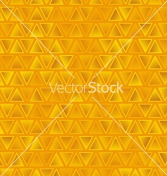 Free yellow seamless abstract triangles background vector - Free vector #239007