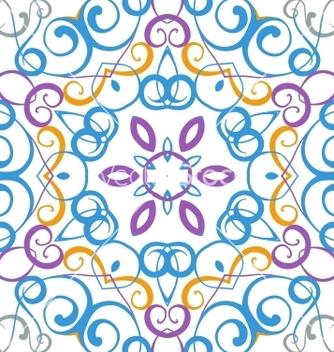 Free medallion circular design vector - Free vector #239287