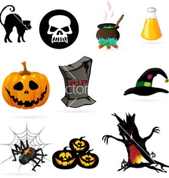 Free halloween vector - Free vector #239357