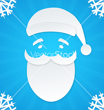 Free christmas postcard santa 1 vector - Kostenloses vector #239387