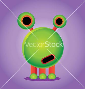Free alien vector - Free vector #239427