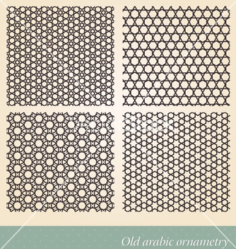 Free seamless islamic background vector - Free vector #240017