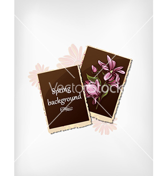 Free floral background vector - Free vector #240087