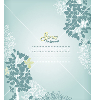 Free floral background vector - Free vector #240227