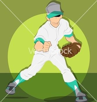 Free baseball boy vector - Free vector #240467