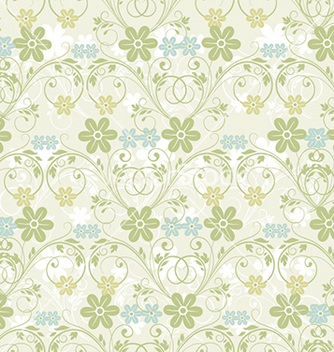 Free seamless floral background vector - Kostenloses vector #241127