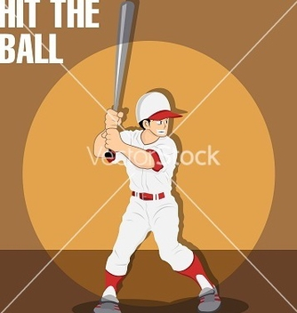 Free baseball boy vector - бесплатный vector #242207