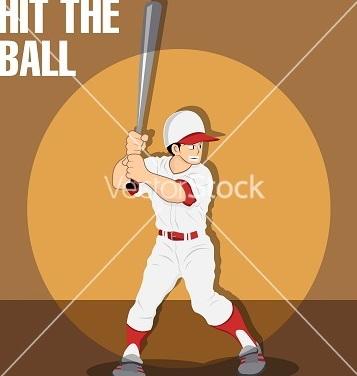 Free baseball boy vector - Free vector #242207