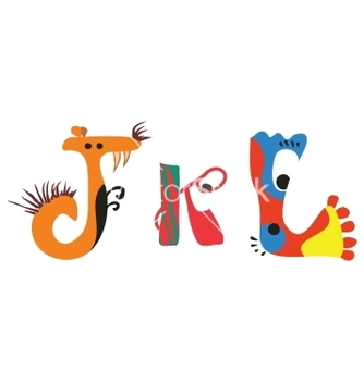Free alphabet vector - Kostenloses vector #242267