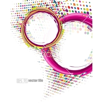 Free abstract colorful swirly vector - Free vector #242277