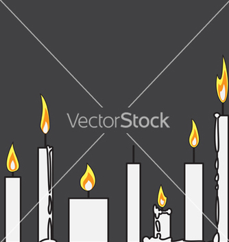 Free candle vector - vector gratuit #242287