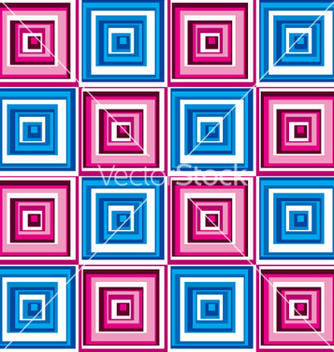 Free seamless square pattern vector - vector #242577 gratis
