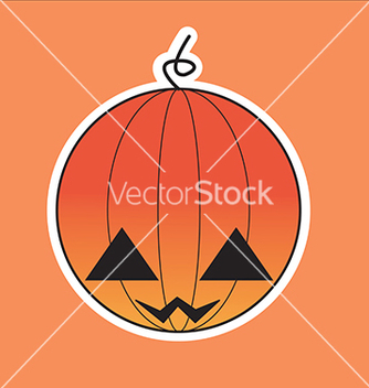 Free halloween pumpkin vector - бесплатный vector #242627