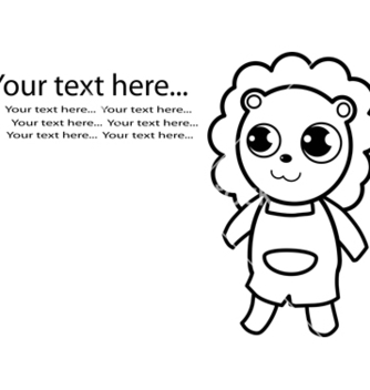 Free lion vector - Free vector #242687
