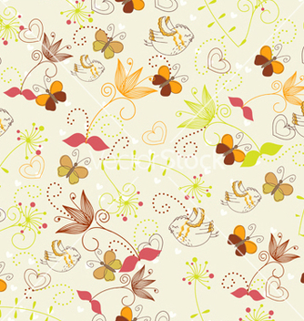 Free seamless paisley pattern vector - Free vector #242787