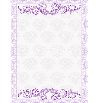 Free frame with floral vector - Kostenloses vector #242807