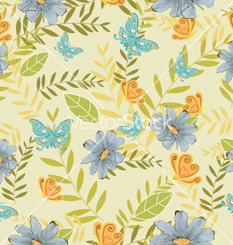 Free seamless paisley pattern vector - Kostenloses vector #242907