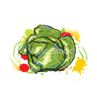 Free vegetables with grunge vector - Free vector #243337
