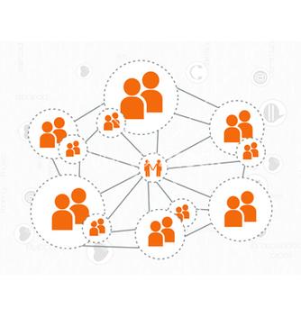 Free social media concept vector - Kostenloses vector #243377