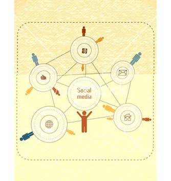 Free social media concept vector - Free vector #243417